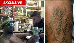 Bishop Don Juan -- Pimpest Tattoo Photos Ever!