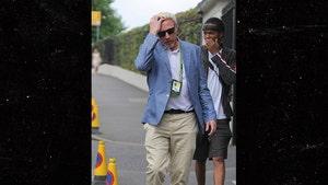 Broke Ass Boris Becker Hits Wimbledon, Someone Check His Pass?