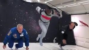 Usain Bolt Smokes Astronaut In Zero Gravity Foot Race