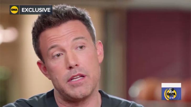 Ben Affleck keeps bringing up his divorce in movie promos