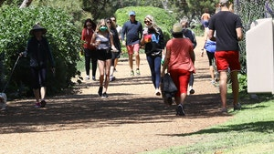 L.A. Beachgoers & Hikers Hit the Sand, Trails Despite Beach Closures