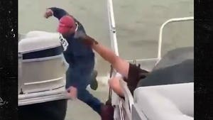 Marriage Proposal Hilariously Fails As Groom Falls Off Boat