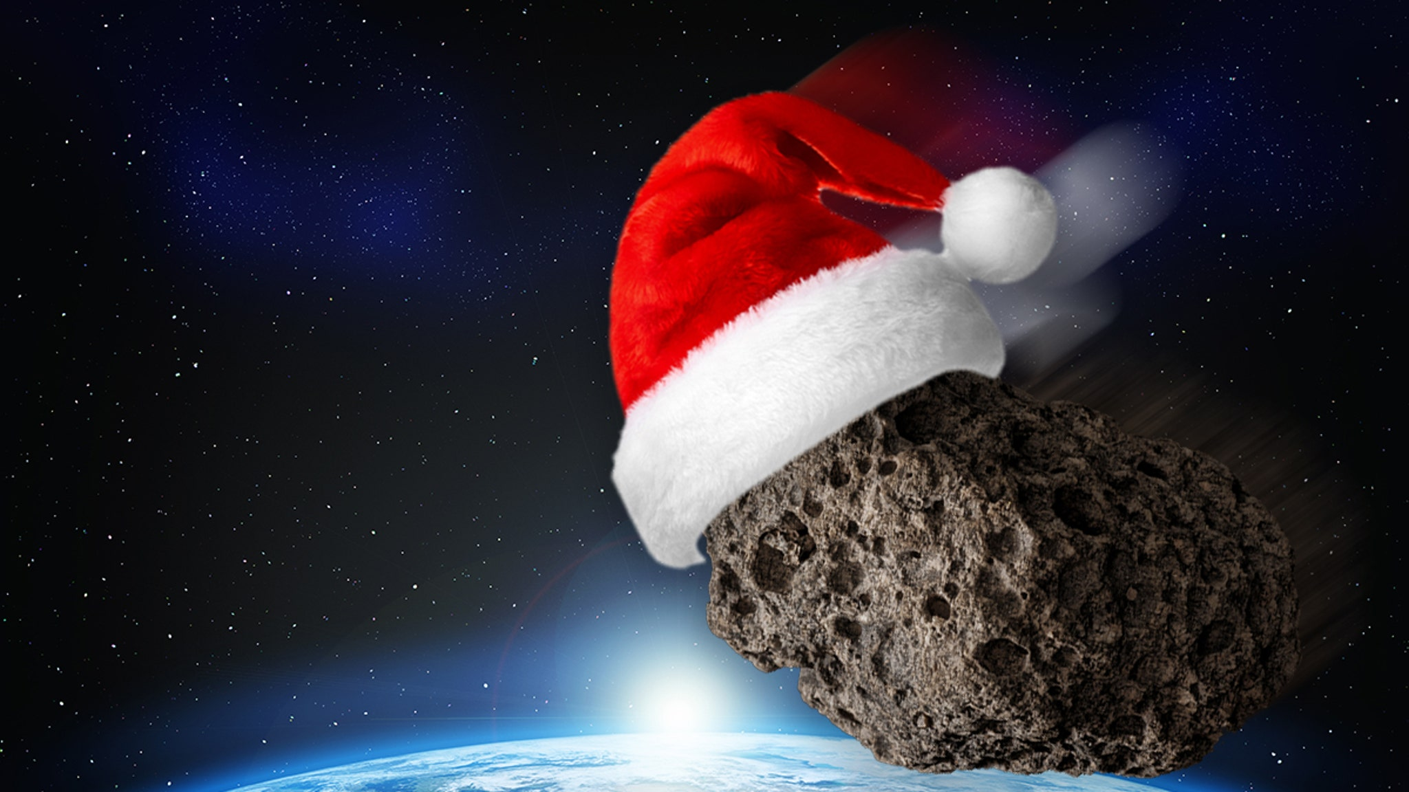 An asteroid flying over the Earth on Christmas is bigger than the Statue of Liberty