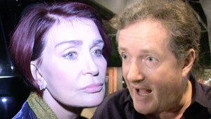 Piers Morgan says Sharon Osbourne Bullied into Apologizing for Defending Him