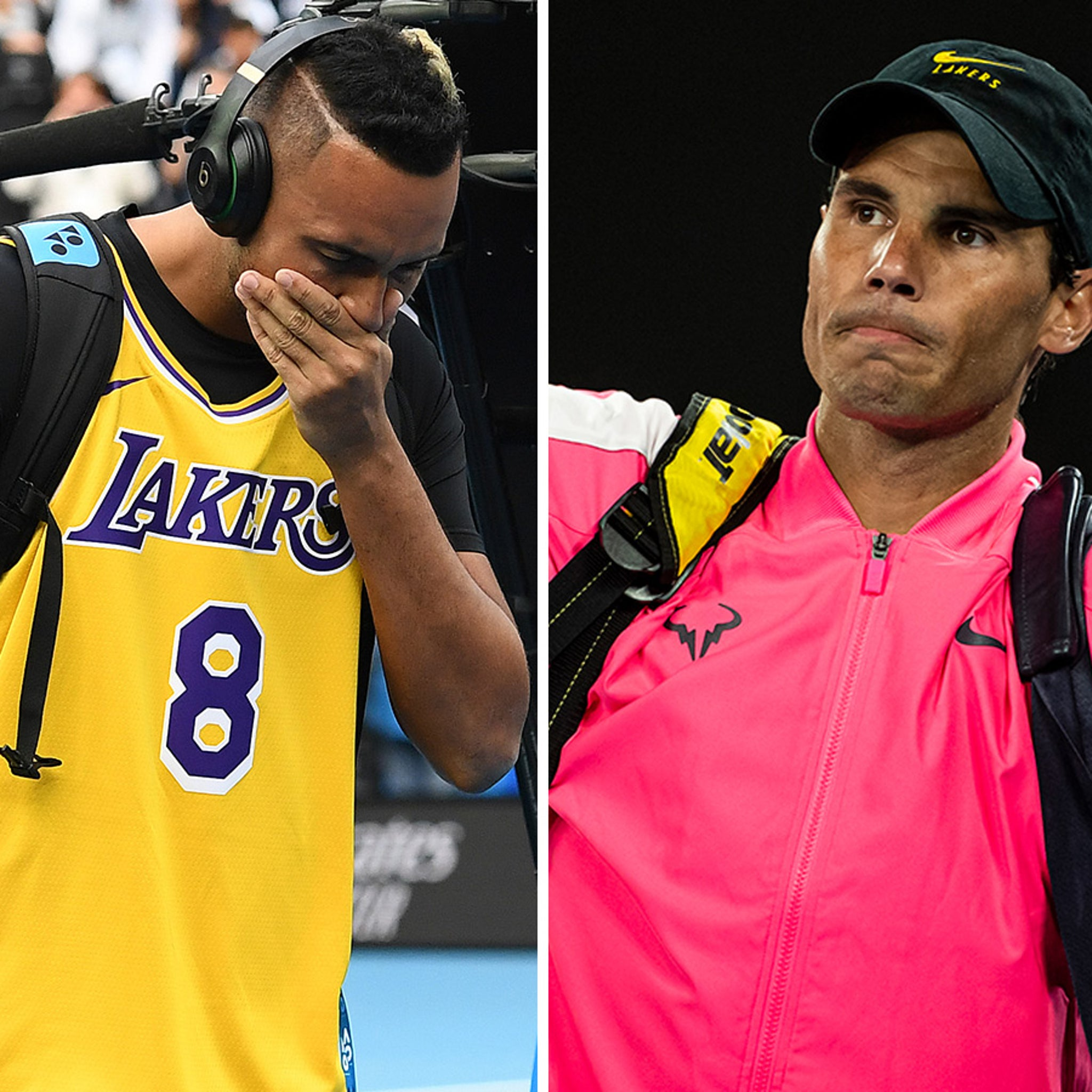 Kobe Bryant Honored By Tennis Stars at Australian Open