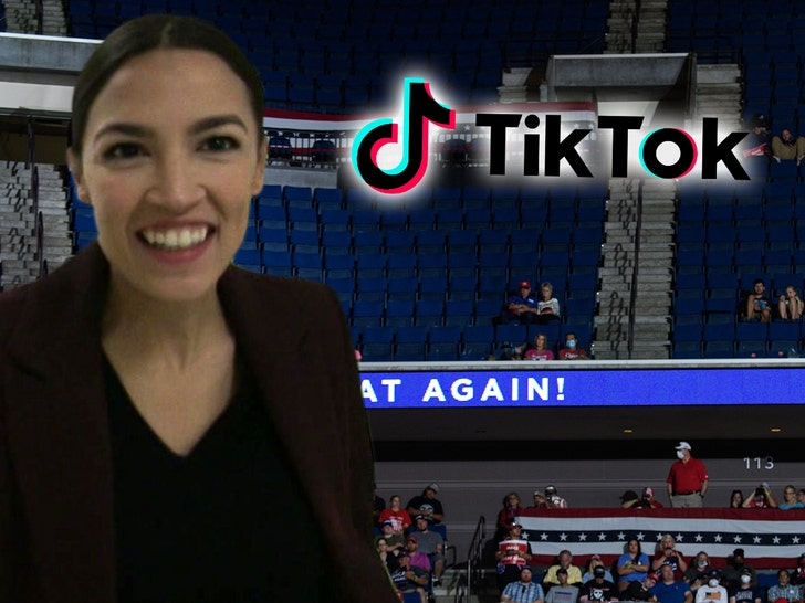 TikTok Campaign Punks Trump and Tulsa Rally, AOC is Thrilled