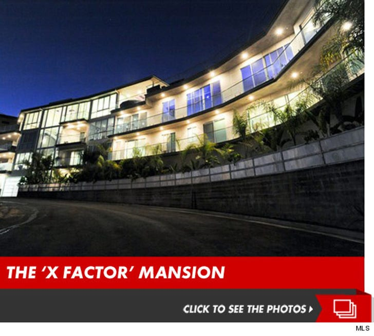 Inside the 'X Factor' Mansion