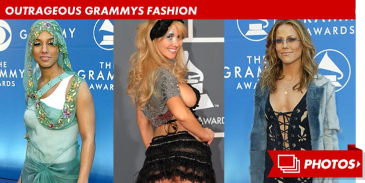 Outrageous Grammy Fashion