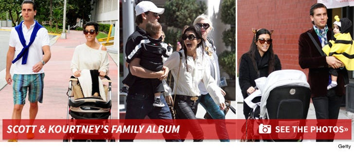 Scott & Kourtney's Family Album