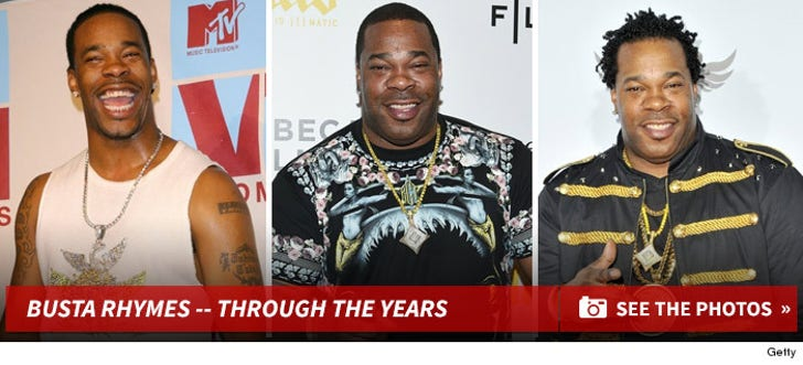 Busta Rhymes -- Through the Years