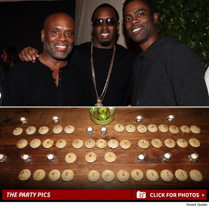 Diddy's Surprise Birthday Party Pics