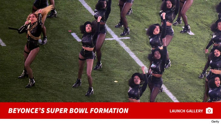 Beyonce's Super Bowl Formation
