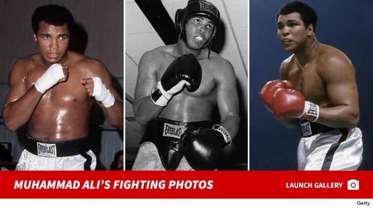 Muhammad Ali's Fighting Photos
