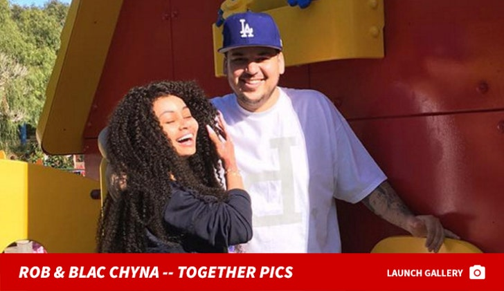 Rob Kardashian and Blac Chyna -- Happier Times