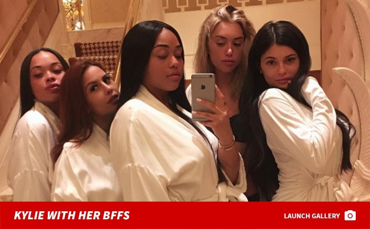 Kylie Jenner and Her BFFs