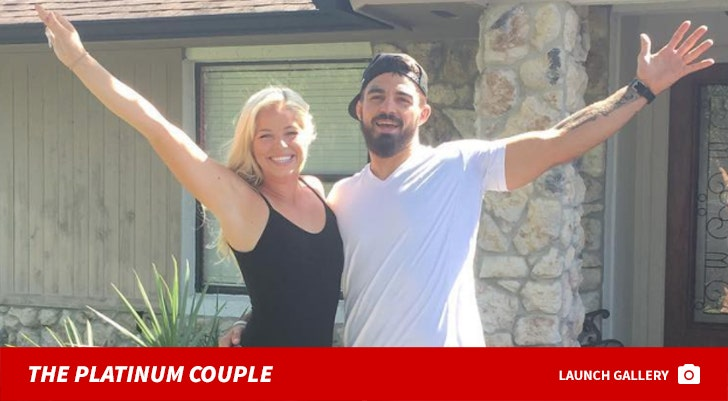 Mike Perry and Danielle Nickerson -- The Platinum Couple