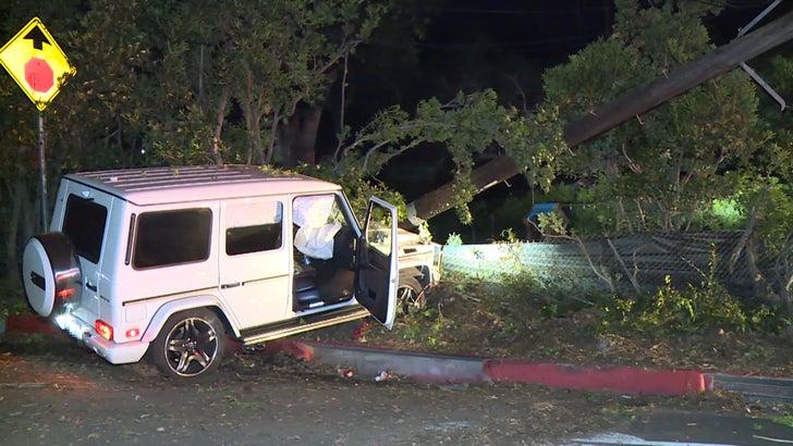 Mac Miller DUI Accident Scene Video