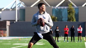 Tom Brady Works Out With UCLA Receivers, Who Needs Gronk?!