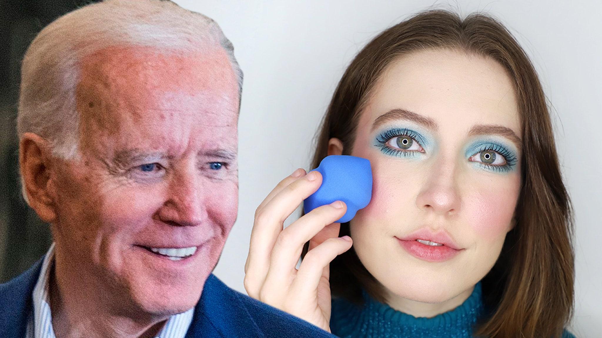 'BIDEN Beauty' Brand Booming, Raising Big Bucks for Joe's Campaign