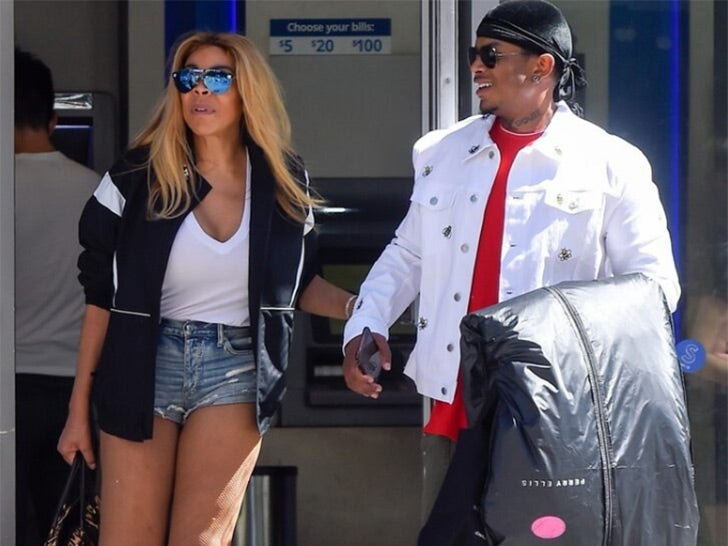 Wendy Williams Cashin' Out With Younger Man