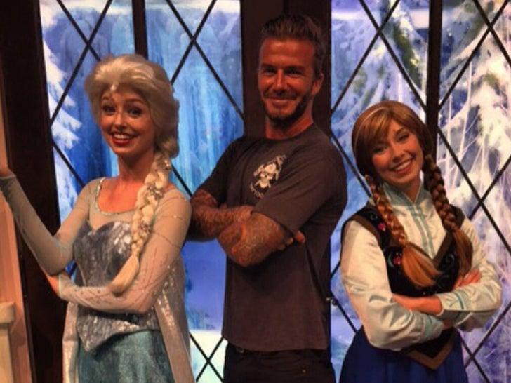 Celebs Letting It Go -- 'Frozen' Fans!