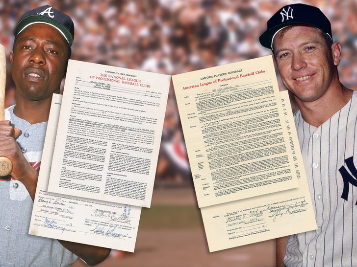 Baseball Contracts Hit Auction Block