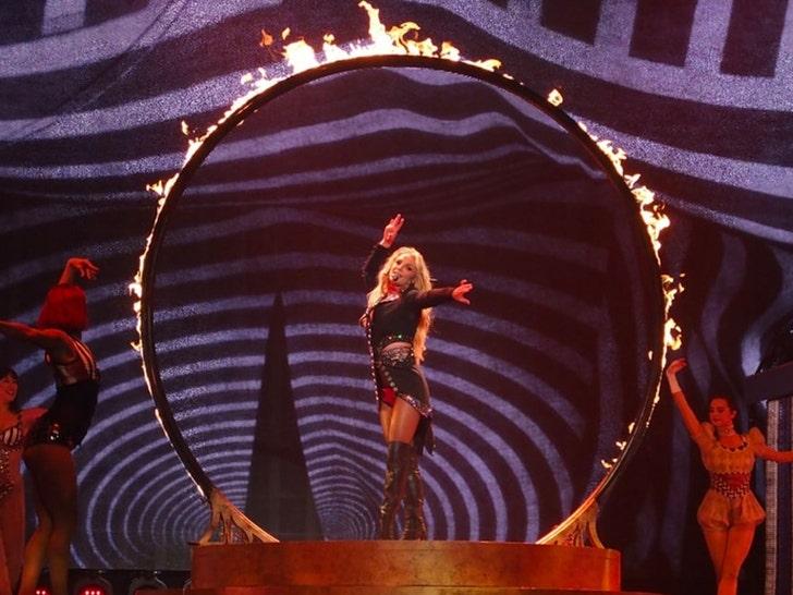 Britney Spears Performing in Las Vegas