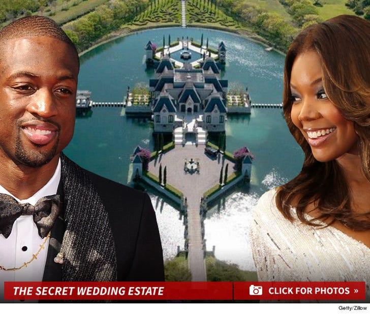 Dwyane Wade and Gabrielle Union's Wedding Location