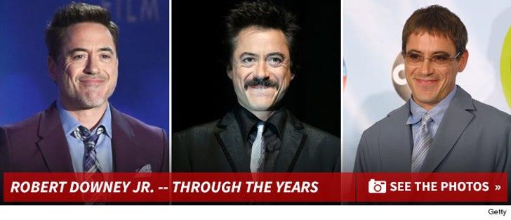 Robert Downey Jr. -- Through the Years
