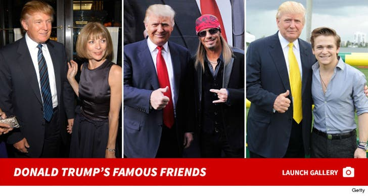 Donald Trump With Famous People