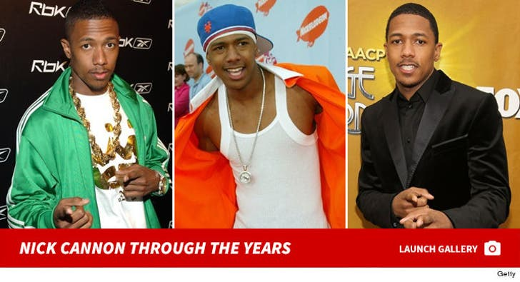 Nick Cannon -- Through the Years