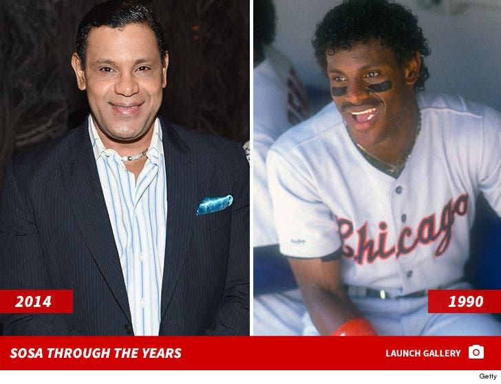 Sammy Sosa Through the Years