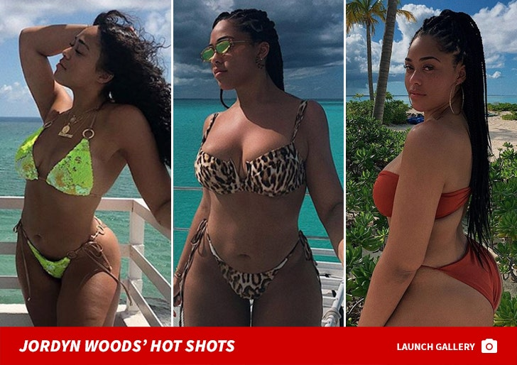Jordyn Woods' Hot Shots