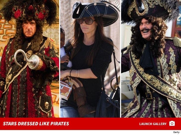 Stars Dressed Like Pirates