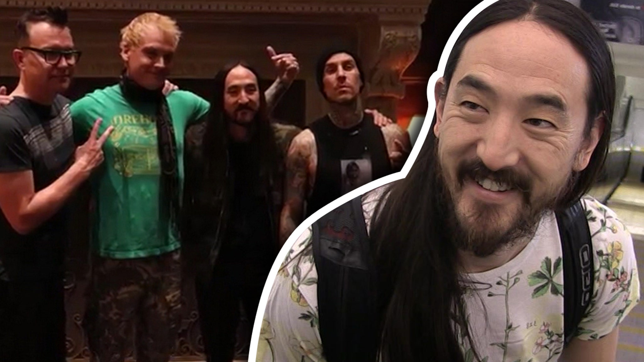 Blink 182 Performs For Steve Aoki S Bday
