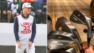 PGA's Justin Thomas Auctioning Off Custom Kobe Clubs For Crash Victims' Families