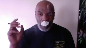 Mike Tyson Celebrates 4/20 with Wake and Bake, 'It's a Celebration!'
