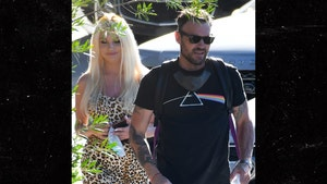 Brian Austin Green and Courtney Stodden Just Friends, Hanging Out