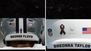 NFL Helmet Tributes to Include Full Names of Police Brutality Victims, Pics Show