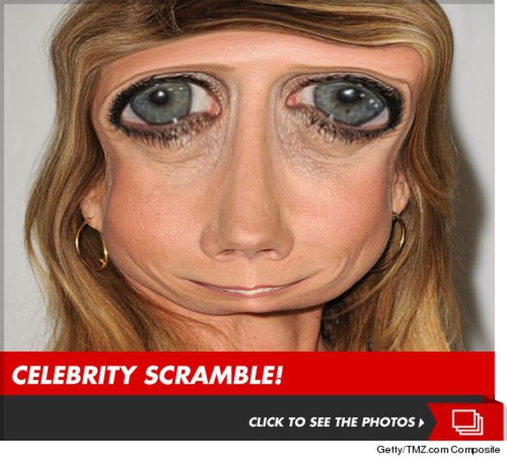 Celebrity Scramble - (Getty)