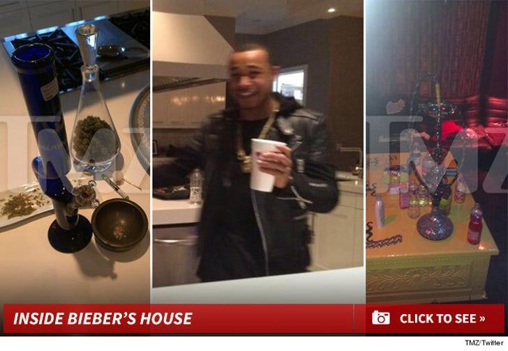 Justin Bieber -- My Kitchen Is Drug Central