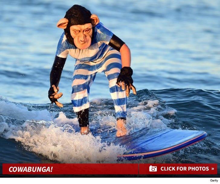 Halloween Wave Riders Hang Ten ... Cowabunga!