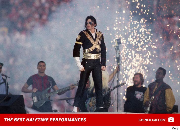 Super Bowl Halftime Performances -- Through the Years