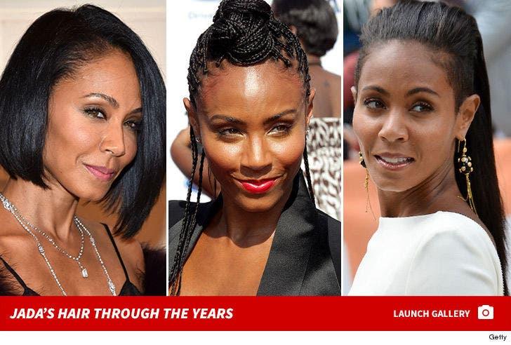 Jada Pinkett Smith Hair -- Through the Years