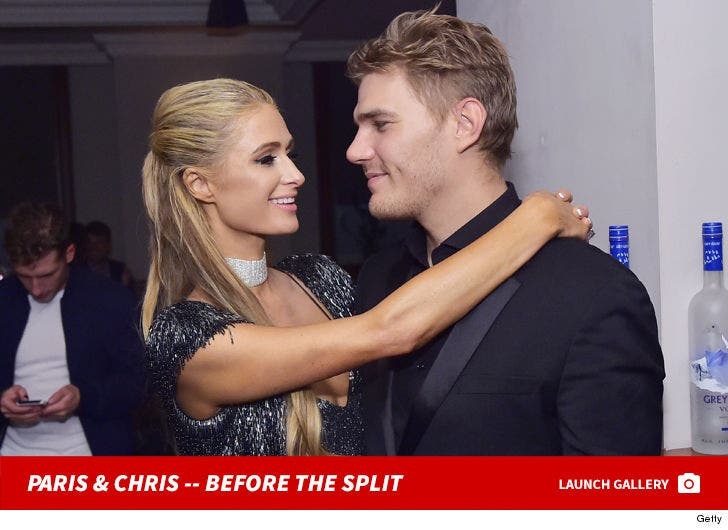 Paris Hilton and Chris Zylka Together