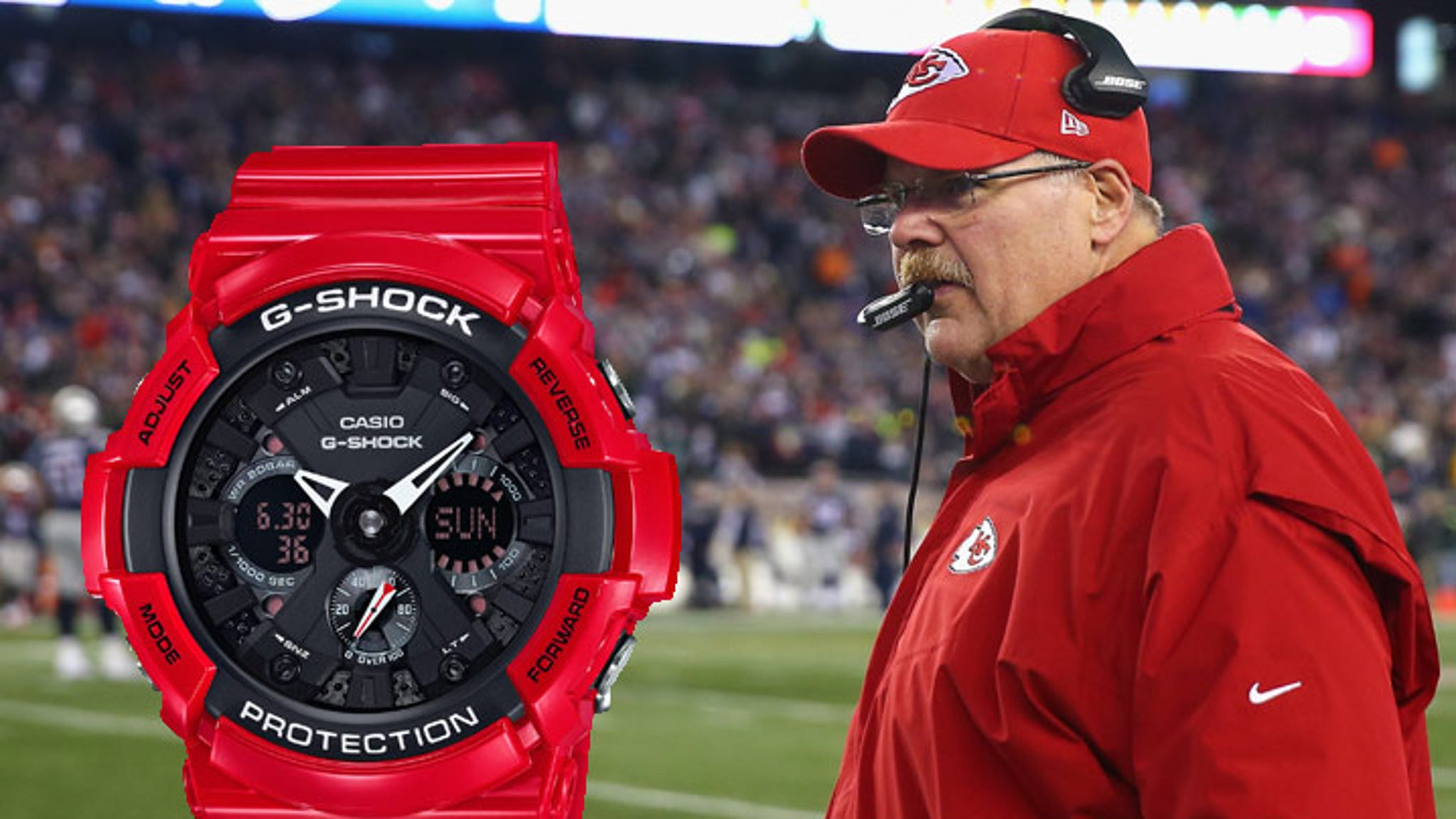 Casio to Andy Reid -- We Can Help with Clock Management!Kyrie Irving Talk To Pawns