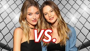 Martha Hunt vs. Behati Prinsloo -- Who'd You Rather?