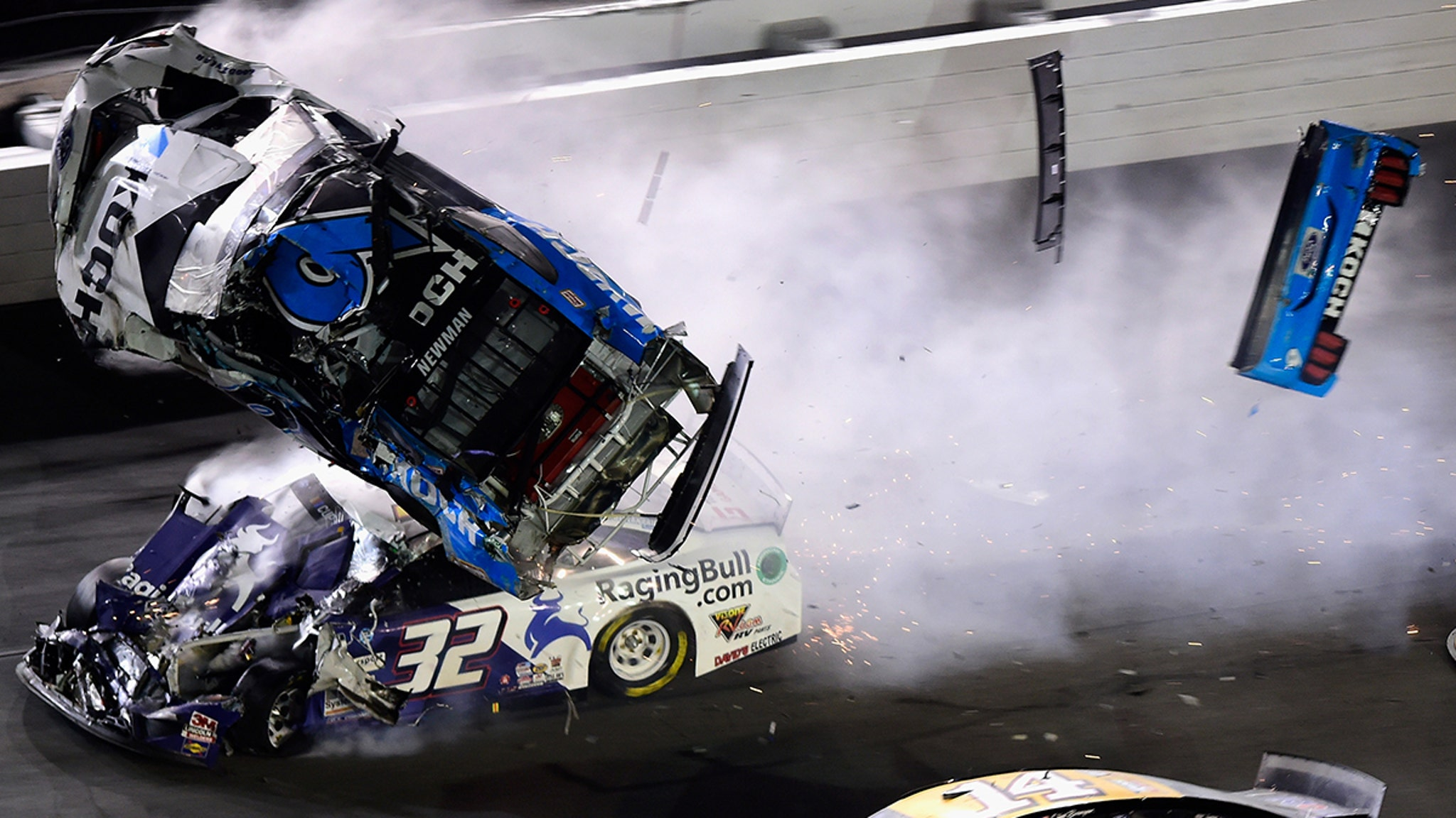NASCAR's Ryan Newman Hospitalized After Scary Crash At Daytona 500