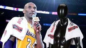Kobe Bryant's 'Mamba Out' Speech Towel Sells For $30K At Auction
