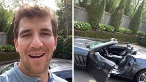 Eli Manning Donating SB MVP Corvette For COVID Relief, I'll Deliver It Too!